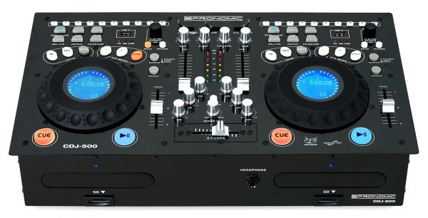 Pronomic CDJ-500 Full-Station Doppel DJ CD-Player