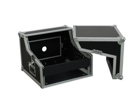 Roadinger Spezial-Mixer/CD-Player-Case 3/7/4HE