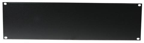 Omnitronic Frontplatte Z-19U, Stahl, schwarz 3HE